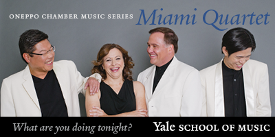 Concerts at the Yale School of Music