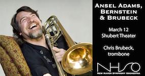 Ansel Adams, Bernstein & Brubeck - New Haven Symphony Orchestra