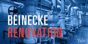 Beinecke under renovation