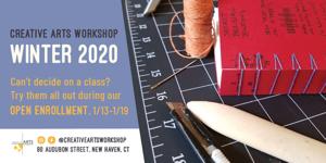 Creative Arts Workshop - Winter Classes Now Open