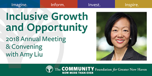 The Community Foundation for Greater New Haven - 2018 Annual Meeting