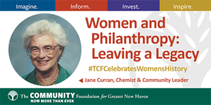 Women and Philanthropy - The Community Foundation for Greater New Haven