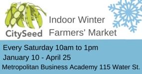 CitySeed Indoor Winter Market starts January 10