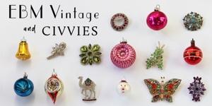 Holiday party shopping at EBM Vintage and Civvies