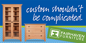 Customize with Fairhaven Furniture