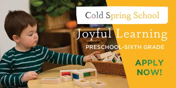 Cold Spring School - Joyful Learning