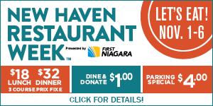 New Haven Restaurant Week Fall 2015