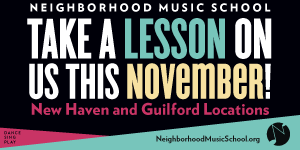 Free First Lesson at Neighborhood Music School