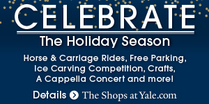 Celebrate the holidays at The Shops at Yale
