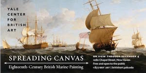 Spreading Canvas at Yale Center for British Art