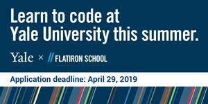 Yale x Flatiron School Web Development Bootcamp - Apply by April 29