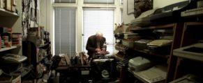 Manson H. Whitlock at Whitlock's Typewriter Shop