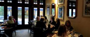 Yolande's Bistro & Creperie dining room
