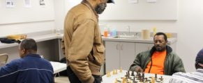 Library Chess Club at NHFPL