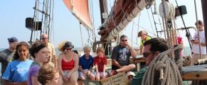 The schooner Quinnipiack