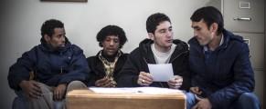 Refugees at IRIS