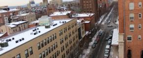 College Street bird's-eye view
