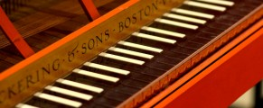 Keyboard at Yale Collection of Musical Instruments