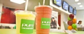 Liquids at Pure Health Lounge