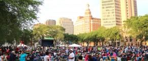 Music on the Green 2014