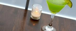 Key lime rum martini at Zafra