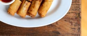 Popia spring rolls at Bentara