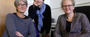 Elisabeth Kennedy, Catherine Shannon, Catherine Fisher at Beacon Self-Directed Learning