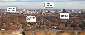 April Fools Vista