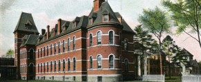 New Haven Hospital circa 1905