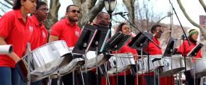 St. Luke's Steel Band at 2014 Wooster Square Cherry Blossom Festival