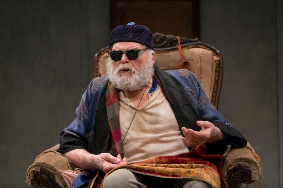 Brian Dennehy in Endgame at Long Wharf Theatre