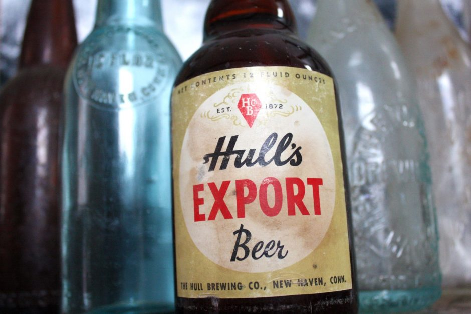 Hulls bottle photographed by Colin Caplan