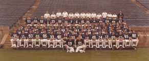 1981 Yale football team - shared courtesy of Mory's