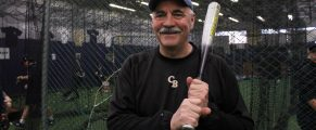 Bob Turcio inside Batter's Box
