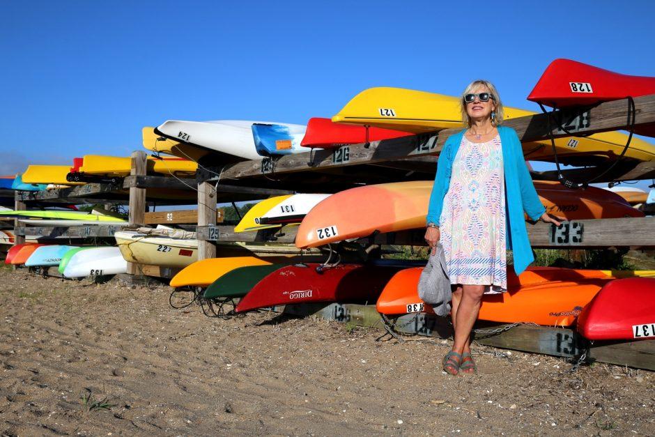 Maddie Dawson at Jacobs Beach in Guilford, Connecticut