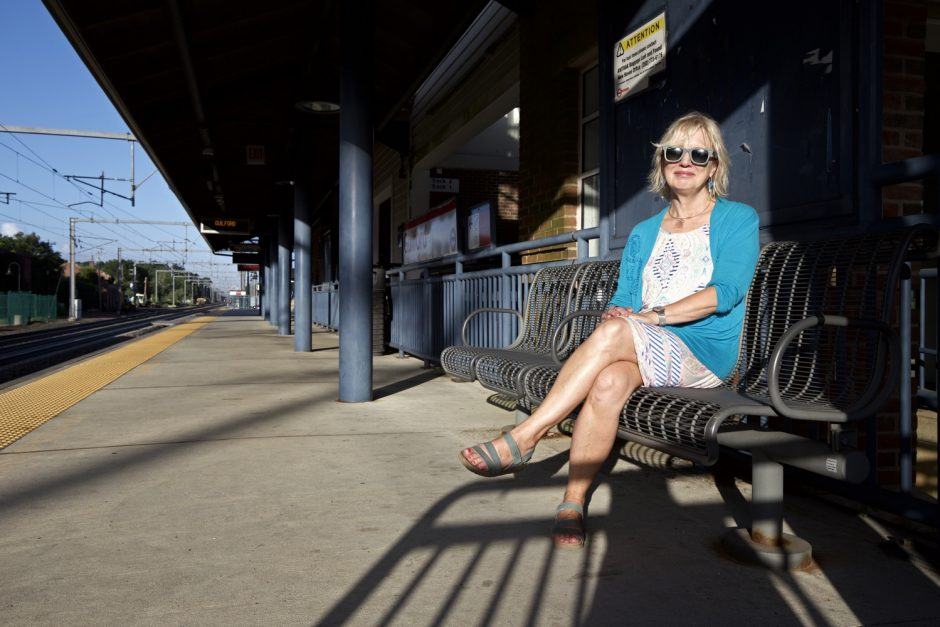 Maddie Dawson at Guilford Station in Guilford, Connecticut