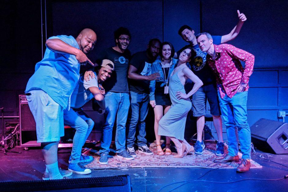 Mo Green, Denver Sproul, Ish Gupta, Cliff Mula, Brooke Louellen, Mega Harrison, Alex Tomaselli and Young Southpaw at Bat Soup